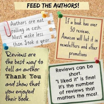Image result for support an author write a review