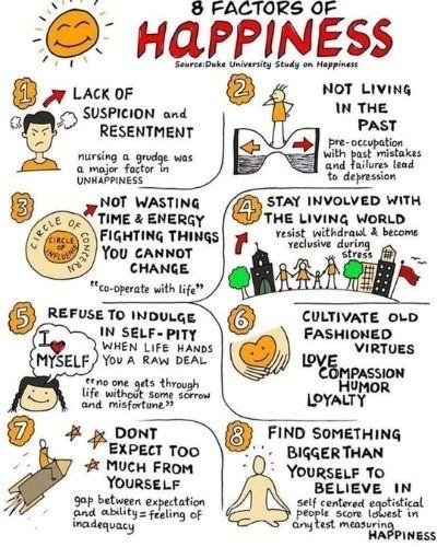8 geluksfactoren