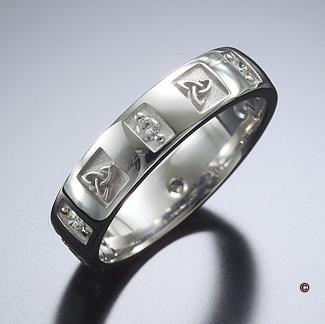 Celtic Knot Wedding Bands Kamaci Images Bloghr