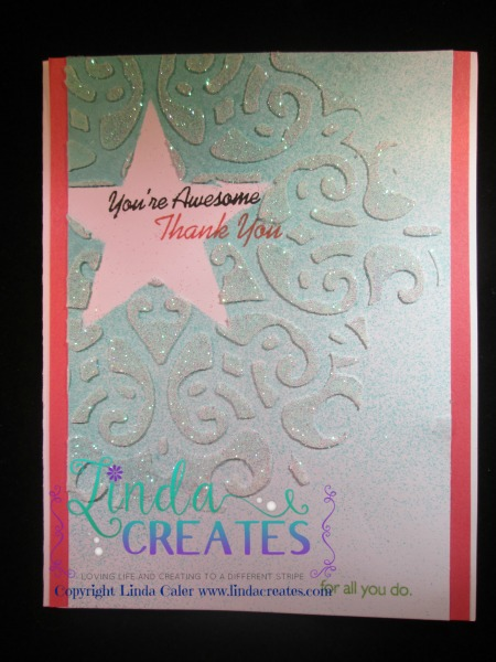 FMS 192 You're Awesome Linda Creates ~ Linda Caler www.lindacreates.com