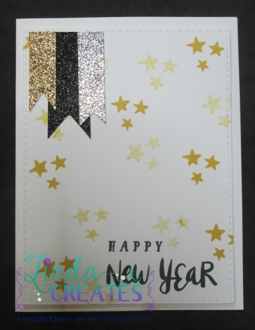 Happy New Year card wm