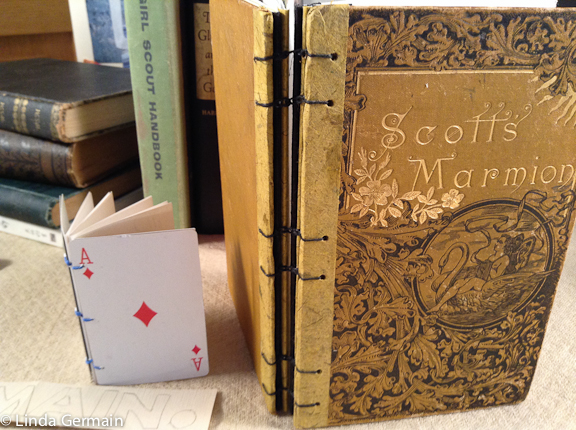 Use old books to make art journals