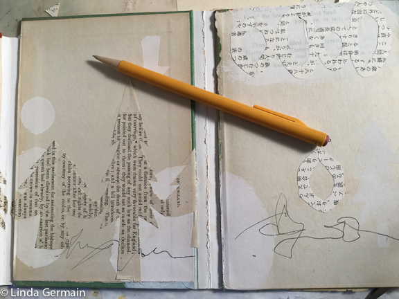 Cut glue and reshape old books