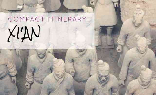 Compact Itinerary for Xi'an