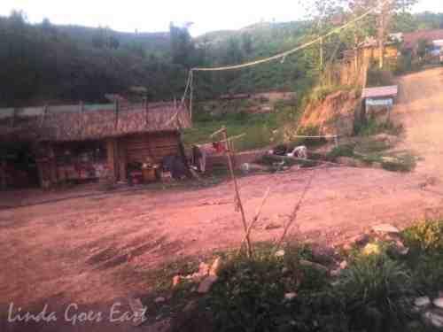 Dirt roads and random huts
