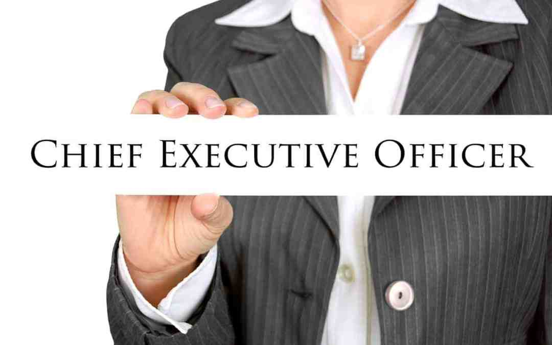 CEO – Are You Acting Like One?