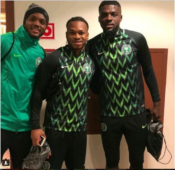 outlet store eca36 beafa Check out Super Eagles squad in Nigeria's new training kit ...