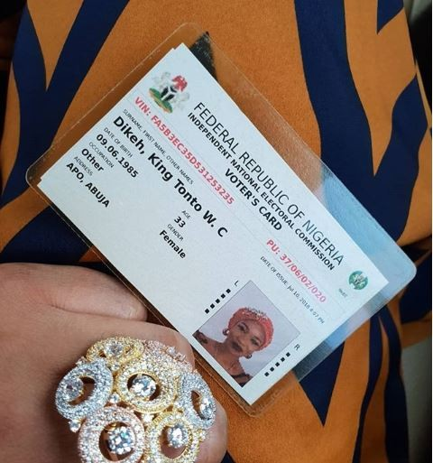 Photo:Tonto Dikeh officially changes her name to King Tonto