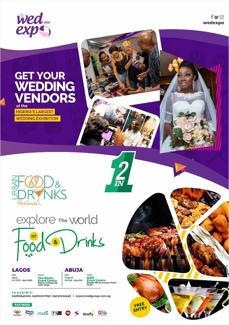 WED Expo to hold alongside the Urban Food & Drink Fest in Lagos and Abuja