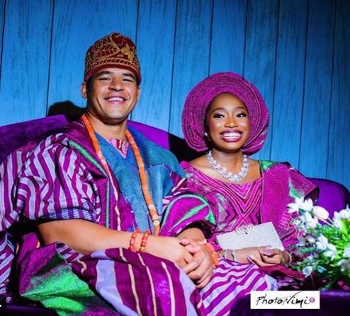 Photos from Ibiyinka and Christopher Ibru's wedding in Lagos