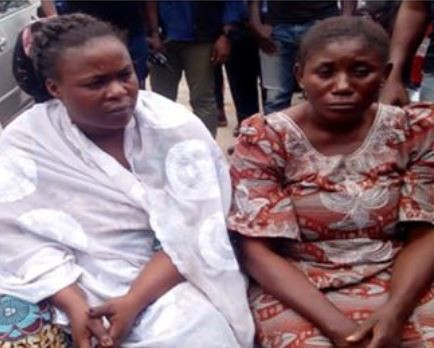 Mother and daughter who faked theirkidnap to defraud husband of N15m arrested in Lagos