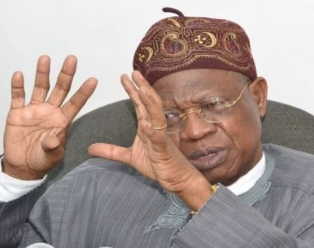 'I am not running for any office In 2019'  Lai Mohammed