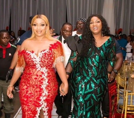 Glamour as Omotola Jalade Ekeinde others grace Chief (Mrs) Faith Ikuku's 30th birthday celebration