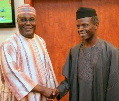 Atiku VSOsinbajo: What's the wisdom in sharing $322 million of Abacha funds to the poor only to take a loan of $328 million from China thenext month