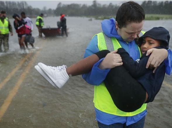Hurricane Florence kills five people including a mother and her infant in North Carolina