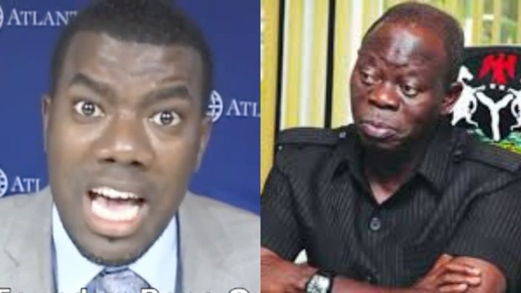 ''Oshiomole is a mentally unbalanced man who suffers from multiple personality syndrome'' Reno Omokri