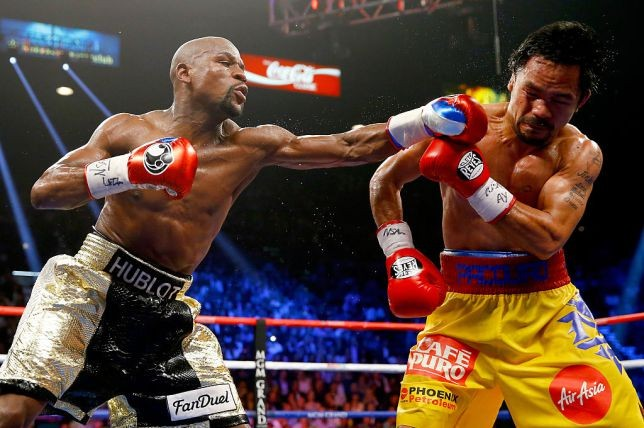 Floyd Mayweather announces he will come out of retirement to fight Manny Pacquiao this year