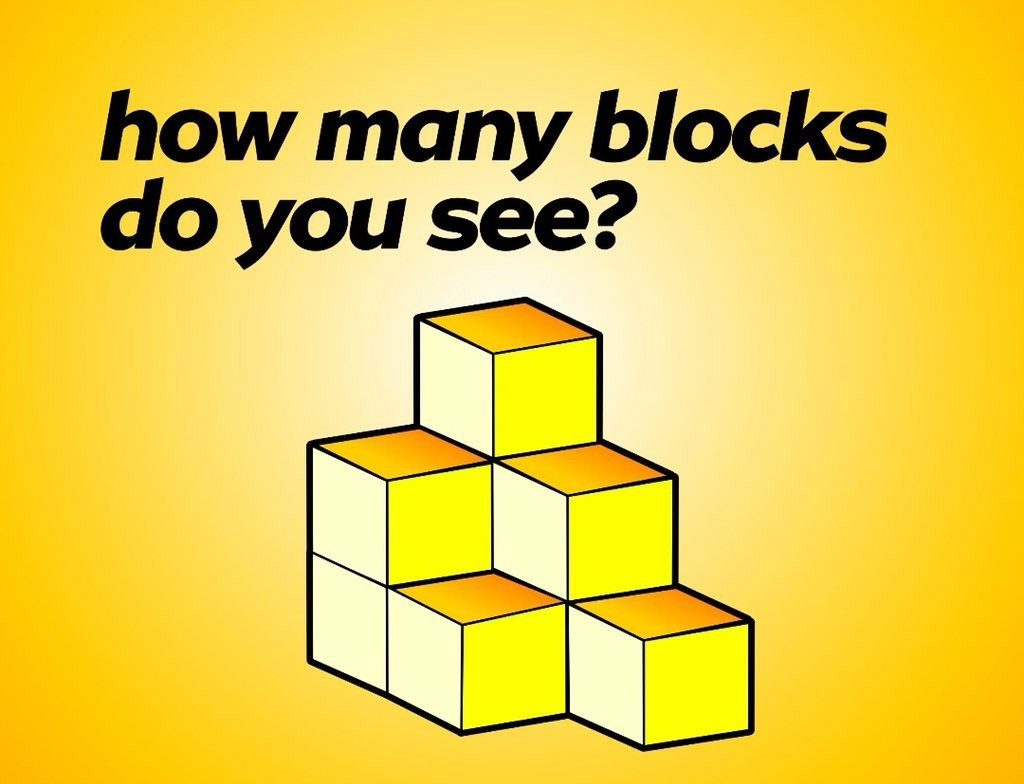 How many blocks can you count in the picture