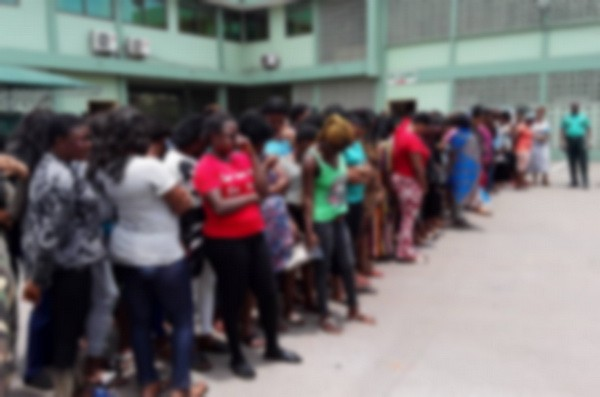 Ghana Immigration set to deport 72 Nigerian women allegedly engaged in prostitution
