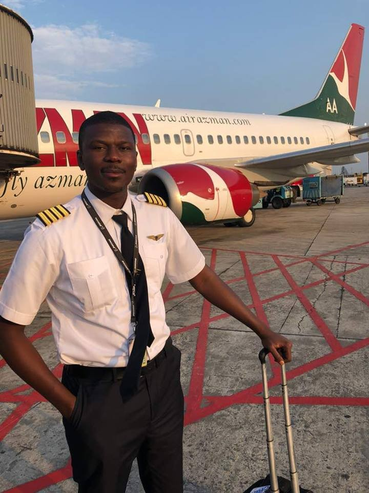 Pilot Shaddad Tijjani Mohammed shares his inspiring story after being jobless for over 15 months in Nigeria