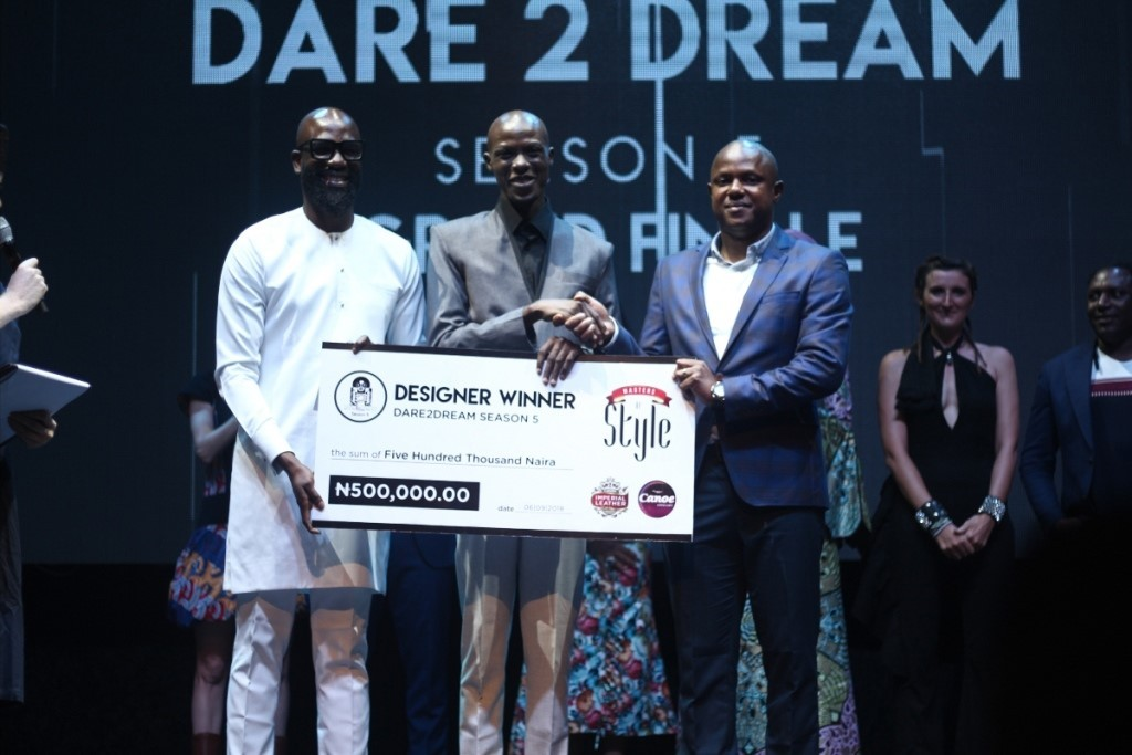 Yahaya Taofiq is crowned Master of Style 2018! As Dare 2 Dream Season 5 Wraps up in Style!