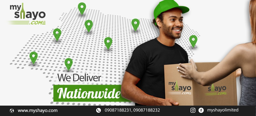 Order on Myshayo.com and get best prices and speedy delivery anywhere in Nigeria