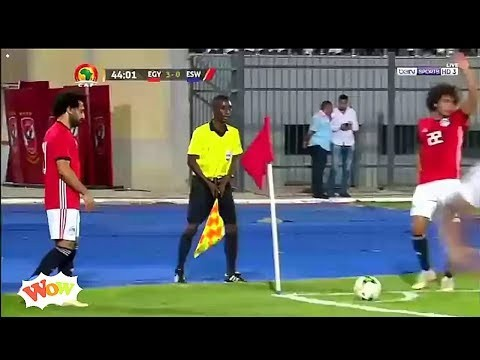Here is the goal Mo Salah scored directly from a corner kick everyone is talking about (Video)