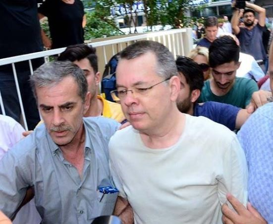 US pastor, Andrew Brunson accused of terrorism released from Turkish detention after two years