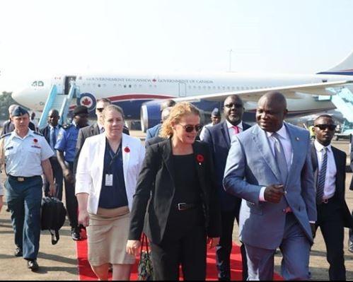 Ambode receivesCanadas Governor General Julie Payette in Lagos (Photos)