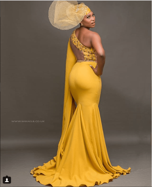 Actress Ufuoma McDermott showcases her behind stuns in ravishing photoshoot (Photos)
