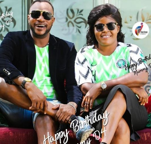 Nollywood actor, Odunlade Adekola shares cute photos of his wife, Ruth to celebrte her birthday