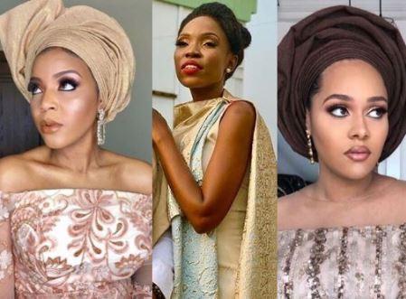 How Tania Omotayo, Lola OJ, Lala Akindoju, others turned up for Adekunle Gold and Simi's wedding