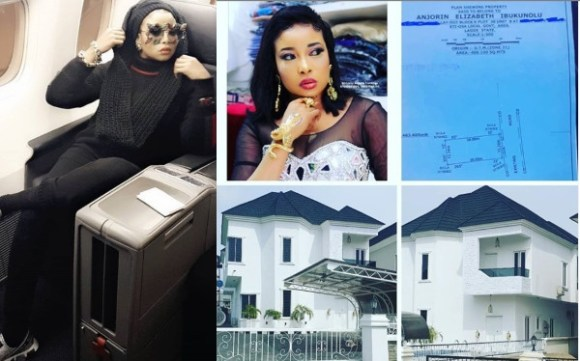 Liz Anjorin shows off her new mansion lindaikejisblog