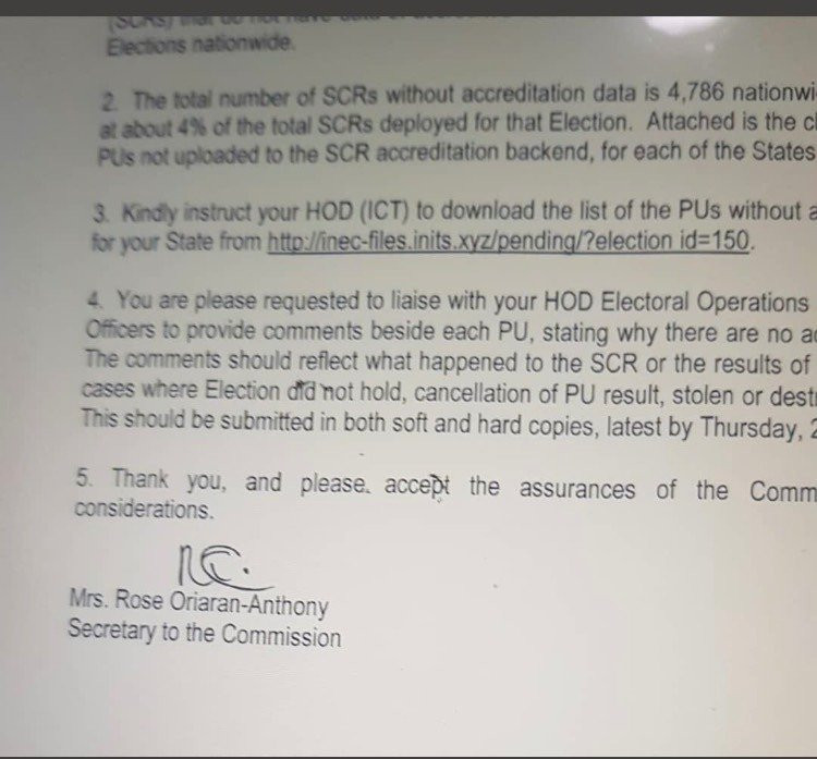 Reno Omokri releases proof INEC transmitted 2019 election results through servers lindaikejisblog 2