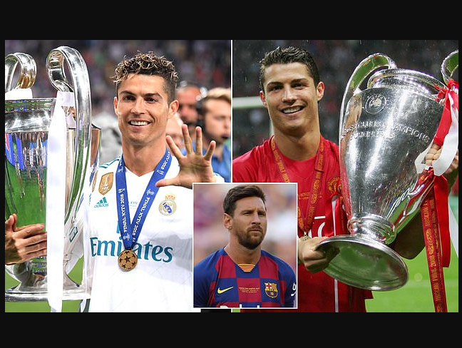 I played for several clubs and won the Champions League - Cristiano Ronaldo explains the difference between him and Lionel Messi