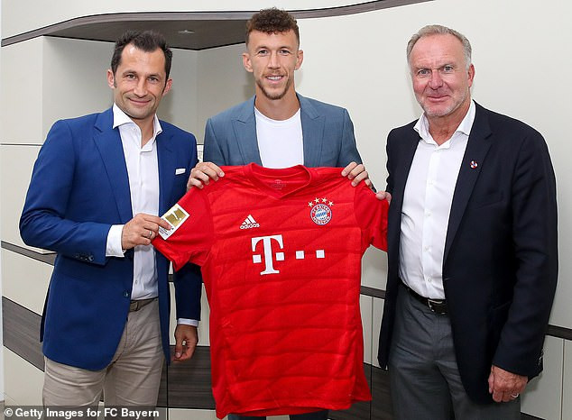 Bayern Munich complete signing of Ivan Perisic from Inter Milan on £4.6m loan (Photos)