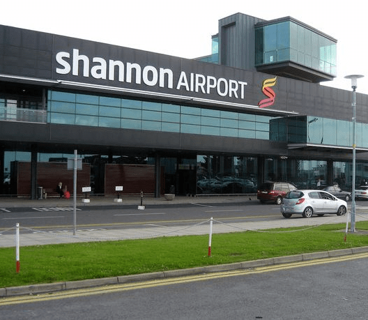 Flights suspended at Shannon airport after plane carrying US troops 'catches fire'