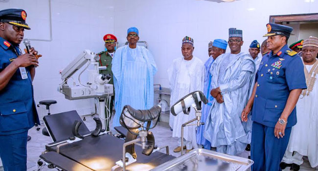 President Buhari commissions Air Force Hospital in Daura lindaikejisblog 6