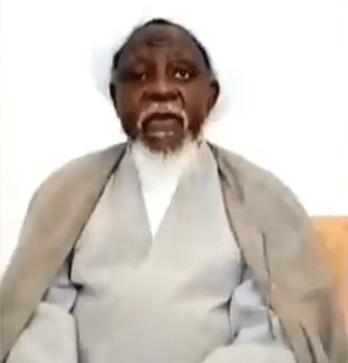 Video: El-Zakzaky speaks on his immediate return to Nigeria