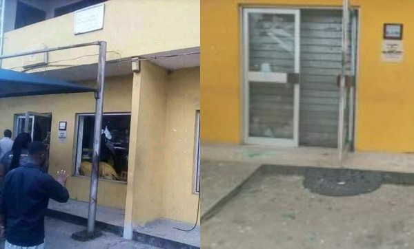 Nigerians attack MTN office in Uyo lindaikejisblog