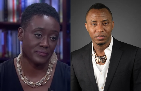 Nigerian government has no grounds to hold my husband - Sowore's wife, Opeyemi