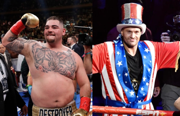 Image result for Andy Ruiz accuses Tyson Fury of fat-shaming him
