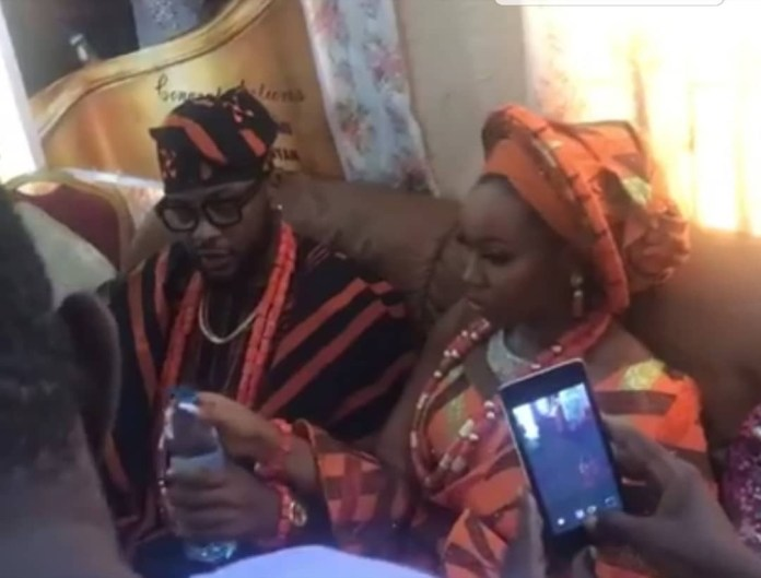 #BamTeddy: First photos from Bam Bam and Teddy A's traditional wedding