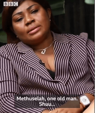 Video:  Regina Daniels mum replies those saying her daughter married a Methusela