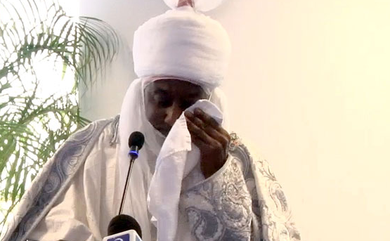 Emir Sanusi cries as he narrates how a sick child died in his mother's arms because of $5 lindaikejisblog