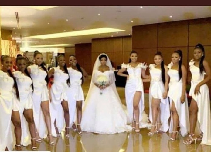 More photos and videos from BamBam and Teddy A's white wedding in Dubai lindaikejisblog 3