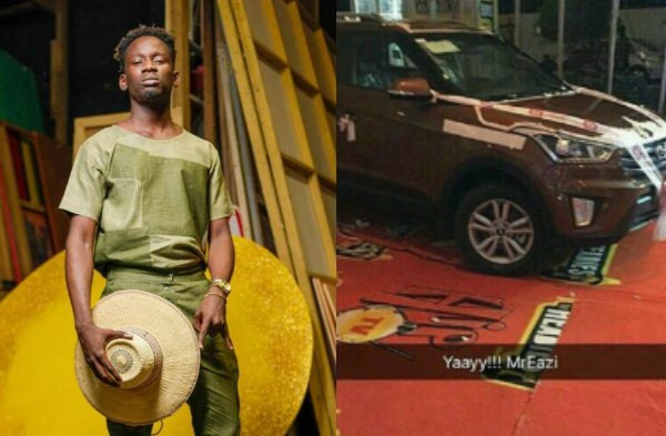 Mr Eazi calls out Hip TV for allegedly failing to give him the car that came with the Next Rated Award he won at the 2016 Headies lindaikejisblog