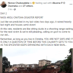 Several houses washed away following heavy downpour in Anambra community. (Photos)