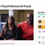 Over $1.9mil raised from GoFundMe created for the memorial fund of George Floyd in less than 48hrs.