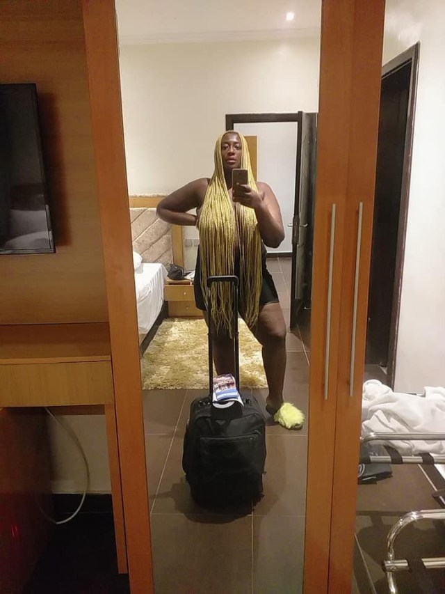 Growing up, being fully clothed has never been my thing - Actress Khyara Nwokora defends decision of sharing her nude photos on social media lindaikejisblog 2